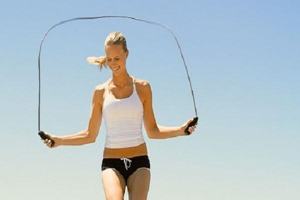 Nhảy dây giảm mỡ bụng dưới không