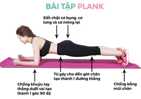 Hướng dẫn Plank đúng cách