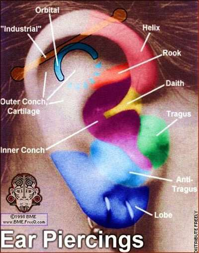 bấm lỗ tai có đau không