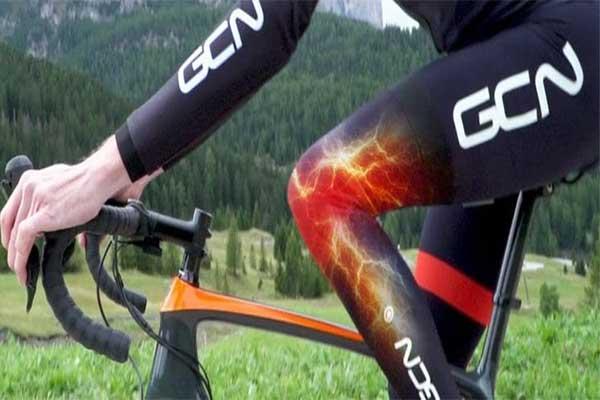 đạp xe bị đau đầu gối