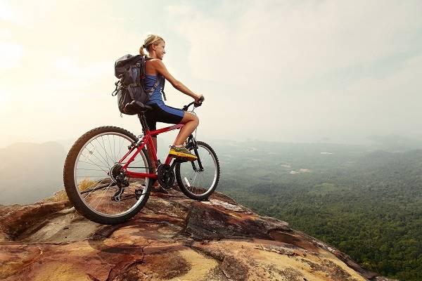 mơ đi xe đạp